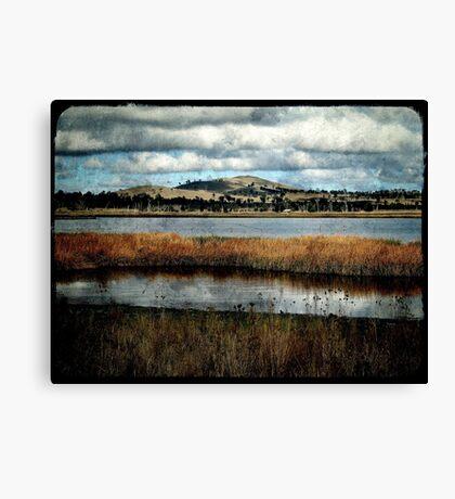 The Birdwatching Hut - Dangars Lagoon, Northern Tablelands, NSW, Australia Canvas Print
