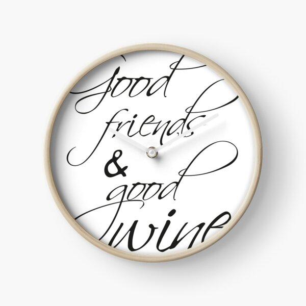 Good wine Uhr
