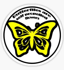 Butterfly Quotes Sticker