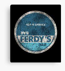 Ferdy's Bar (Memento) Canvas Print