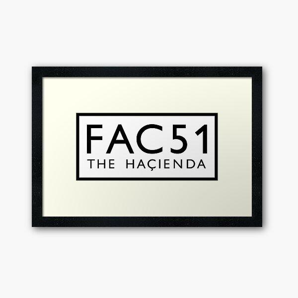 Factory Records The Hacienda Framed Art Print