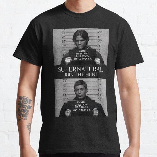 Supernatural Mugshot's T-shirt classique