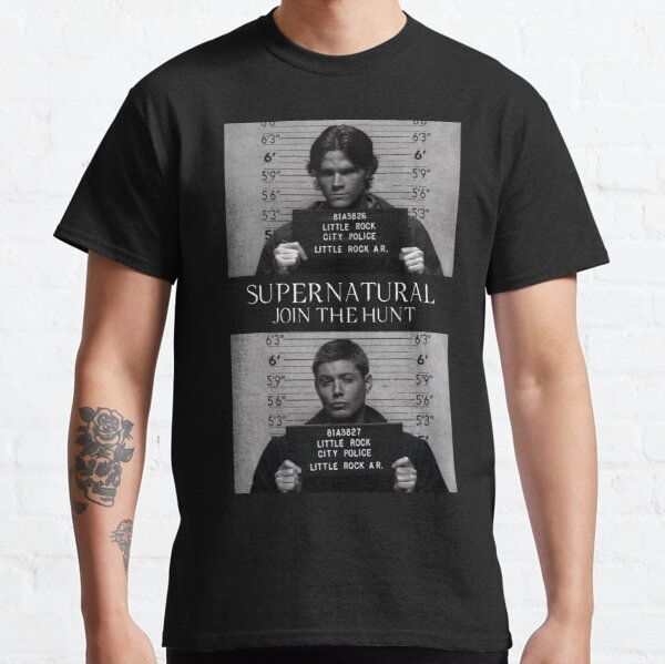 Supernatural Mugshot's Classic T-Shirt