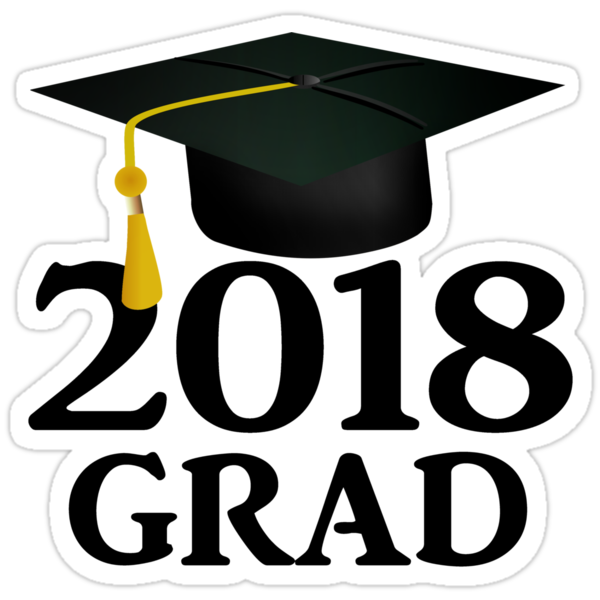 Quot Class Of 2018 Graduation Cap Quot Stickers By Gravityx9