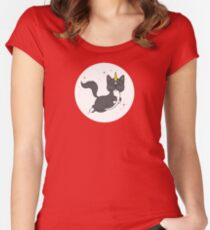 Tuxedo Caticorn Women's Fitted Scoop T-Shirt