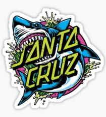 SANTA CRUZ SHARK Sticker