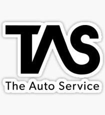The Auto Service Sticker