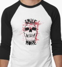 Smile More! Men's Baseball ¾ T-Shirt