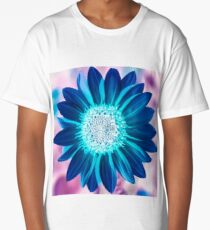 The Bright Eyed Sunflower with a Twist Long T-Shirt