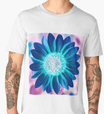 The Bright Eyed Sunflower with a Twist Men's Premium T-Shirt