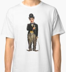 Chaplin, charlie, charlie chaplin, famous, actor, comedian, movie, cinema, Classic T-Shirt