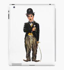 Chaplin, charlie, charlie chaplin, famous, actor, comedian, movie, cinema, iPad Case/Skin