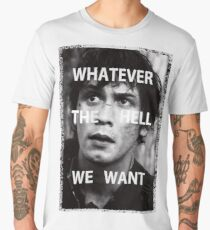 Bellamy Blake Whatever The Hell We Want (For Charity) Men's Premium T-Shirt