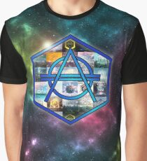 Don Diablo Hexagon Galaxy Graphic T-Shirt