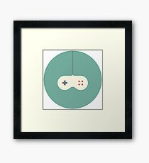 Console of video games, video game, to play, toy, game of computer, device, entertainment, electronics, amusement Framed Print