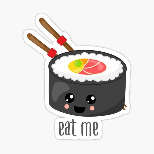 Sticker Emoji Sushi Redbubble