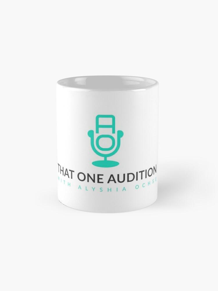 Alternative Ansicht von Diese Audition-Kaffeetasse Tasse