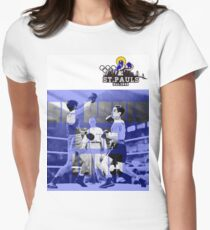 1948 St. Pauls boxing Women's Fitted T-Shirt