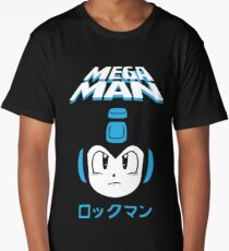 Mega man Long T-Shirt