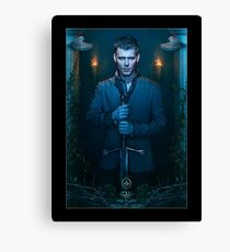 Klaus Mikaelson The Originals - Season 2 - Promotional Poster  Canvas Print