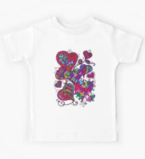 Sweet heart pattern Kids Clothes