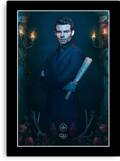 Elijah Mikaelson Die Originale Staffel 2 Werbeplakat