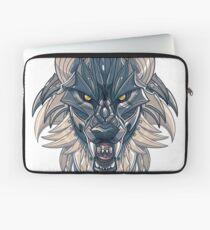 Mecha-Wolf Snarl Laptop Sleeve