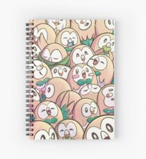 Rowlet Fields Forever Spiral Notebook