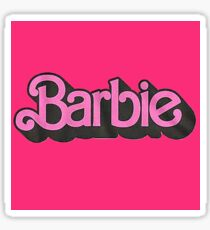 Barbie Sticker