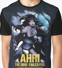 League of Legends AHRI - [The Nine-Tailed Fox] Graphic T-Shirt