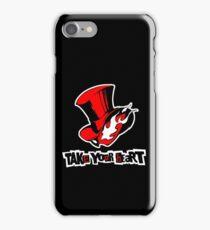 Persona 5 - Phantom Thieves Symbol / Take Your Heart iPhone Case/Skin