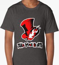 Persona 5 - Phantom Thieves Symbol / Take Your Heart Long T-Shirt