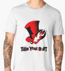 Persona 5 - Phantom Thieves Symbol / Take Your Heart Men's Premium T-Shirt