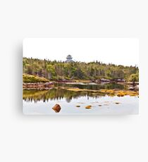 Peggy's Cove Hidden Inlet Canvas Print