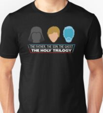The Holy Trilogy (White Letters) T-Shirt