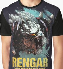 League of Legends RENGAR - [The Pridestalker] Graphic T-Shirt