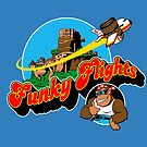 Funky Flights  by coinbox tees