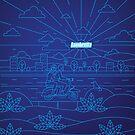 Lambretta Blue by kevincreative