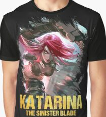 League of Legends KATARINA - [The Sinister Blade] Graphic T-Shirt