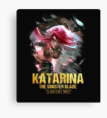League of Legends KATARINA - [The Sinister Blade] Canvas Print