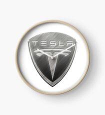 Tesla Motors Symbol Clock