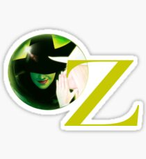 Wicked The Musical Oz Logo Sticker
