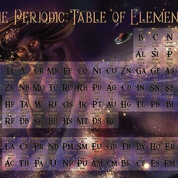 Celestial Periodic Table by HSuits
