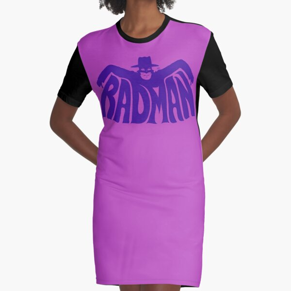 Rad, Man! Graphic T-Shirt Dress