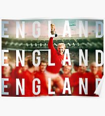 England Wins the World Cup Poster