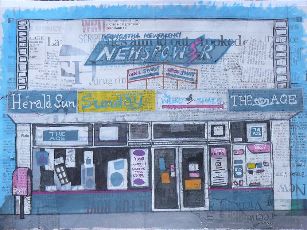 Newsagents by Joan Wild
