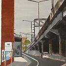 Leaving Richmond by Joan Wild