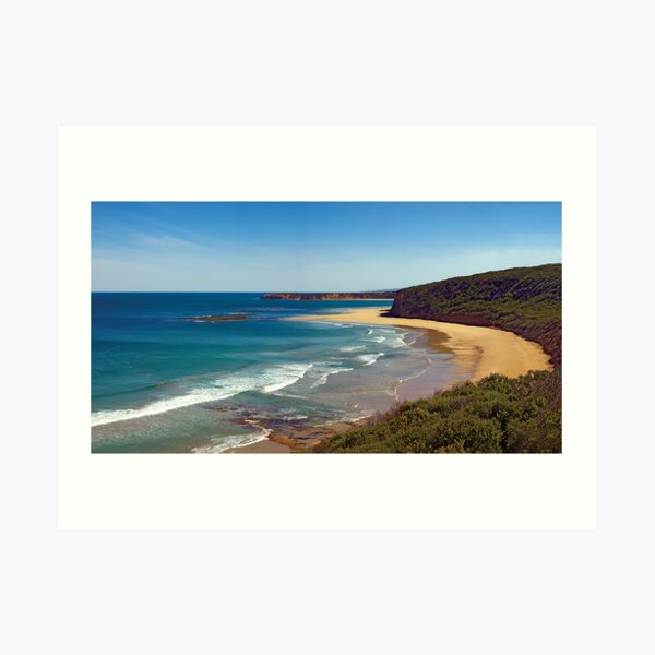 Southside, Bells Beach. Great Ocean Road, Australia Art Print