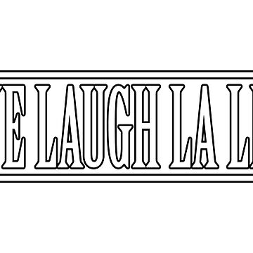 LIVE LAUGH LA LIGA T-SHIRT  by andrewtodos