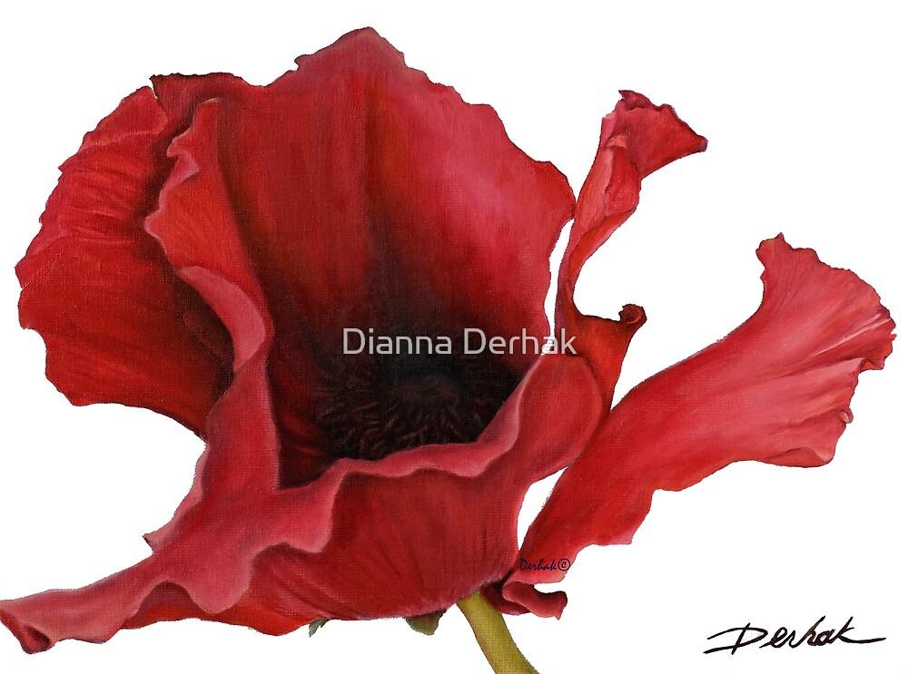 Poppy By Dianna Derhak by Dianna Derhak